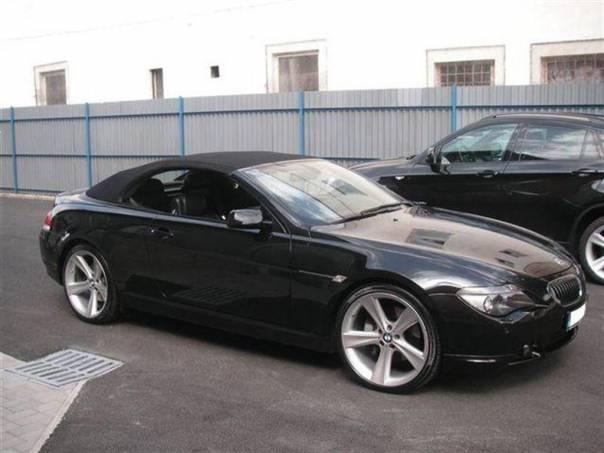 BMW Řada 6 650i Cabrio 367PS facelif, foto 1 Auto – moto , Automobily | spěcháto.cz - bazar, inzerce zdarma