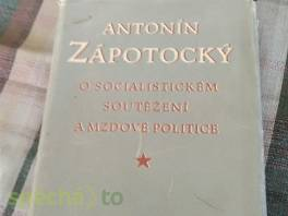 O socialistickém soutěžení a mzdové politice , Hobby, volný čas, Knihy  | spěcháto.cz - bazar, inzerce zdarma
