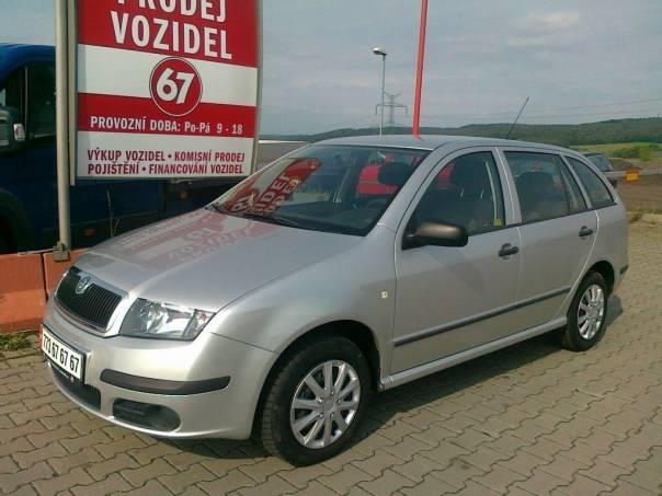 Škoda Fabia 1.2 12V kombi klima, foto 1 Auto – moto , Automobily | spěcháto.cz - bazar, inzerce zdarma