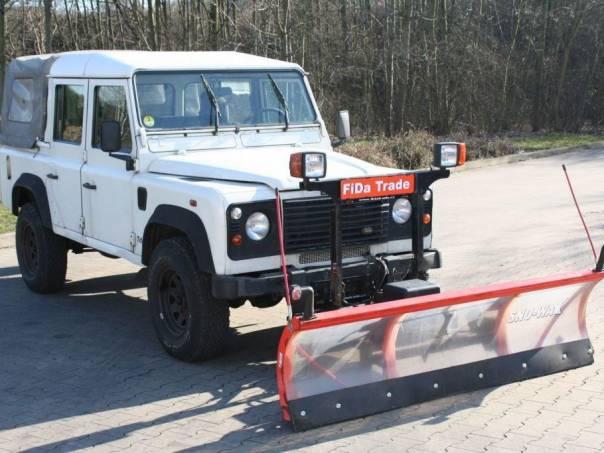 Land Rover Defender 110,TD5 Hydraulická radlice, foto 1 Auto – moto , Automobily | spěcháto.cz - bazar, inzerce zdarma
