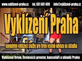 Vyklízení kanceláří a skladů Praha