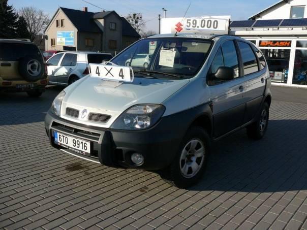 Renault Scénic 1.9 dTi RX4 4x4, foto 1 Auto – moto , Automobily   spěcháto.cz - bazar, inzerce zdarma