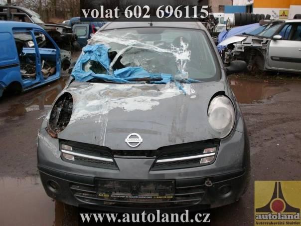 Nissan Micra VOLAT, foto 1 Náhradní díly a příslušenství, Ostatní | spěcháto.cz - bazar, inzerce zdarma