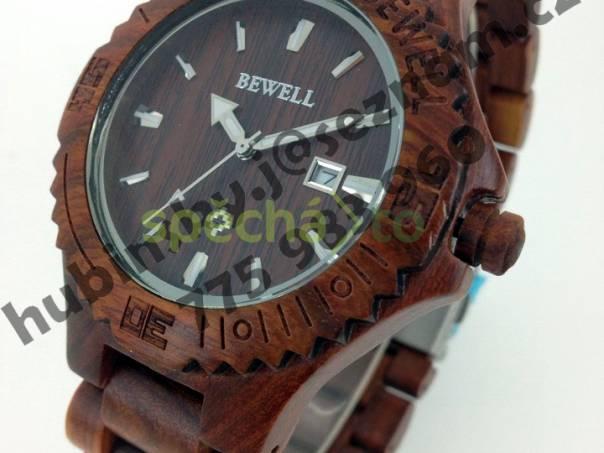Nové hodinky z červeného santálového dřeva - dárek  e7443fed601