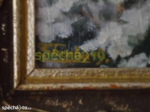 Olej plátno o Škarby, foto 1 Hobby, volný čas, Sběratelství a starožitnosti | spěcháto.cz - bazar, inzerce zdarma