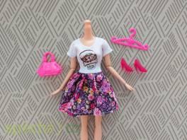 NOVÉ! Set pro panenku Barbie, šaty+boty+kabel.+ram. , Pro děti, Hračky  | spěcháto.cz - bazar, inzerce zdarma