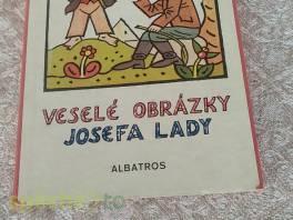 Veselé obrázky Josefa Lady , Hobby, volný čas, Knihy  | spěcháto.cz - bazar, inzerce zdarma