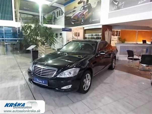 Mercedes-Benz Třída S 3.0CDi DPF V6 320CDi 7G-Tronic, foto 1 Auto – moto , Automobily | spěcháto.cz - bazar, inzerce zdarma