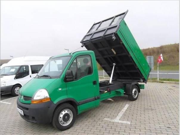 Renault Master 2.5 3 str. sklápěč,klma,měchy,, foto 1 Užitkové a nákladní vozy, Do 7,5 t | spěcháto.cz - bazar, inzerce zdarma