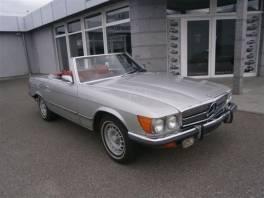 Mercedes-Benz Třída SL W107 450 KLIMA , Auto – moto , Automobily  | spěcháto.cz - bazar, inzerce zdarma