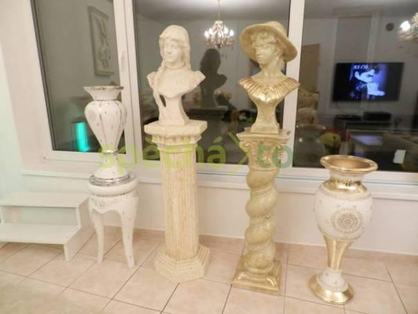 Sochy busty na vysokém podstavci a vázy, foto 1 Hobby, volný čas, Sběratelství a starožitnosti | spěcháto.cz - bazar, inzerce zdarma