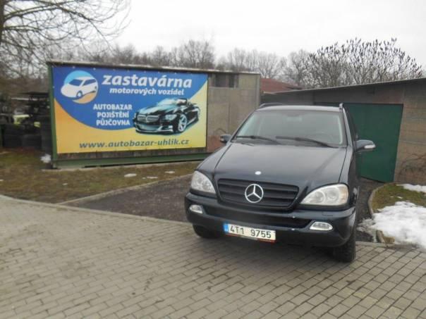 Mercedes-Benz Třída ML 2.7 CDI 4X4, foto 1 Auto – moto , Automobily   spěcháto.cz - bazar, inzerce zdarma