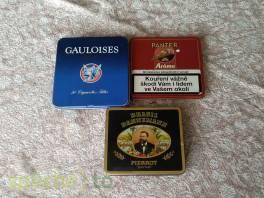 Tři plechové krabičky od cigaret , Hobby, volný čas, Sběratelství a starožitnosti  | spěcháto.cz - bazar, inzerce zdarma