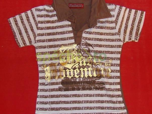 hnědé triko , foto 1 Pro děti, Dětské oblečení  | spěcháto.cz - bazar, inzerce zdarma