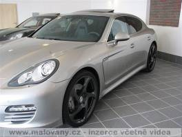 Porsche Panamera 4,8 4S kola a spoiler MANSORY 294kW