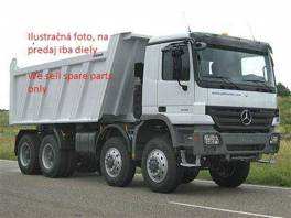 Tlmič výfuku Mercedes Actros