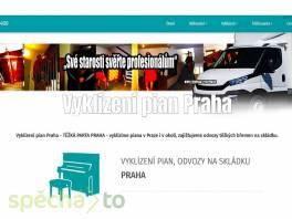 Vyklízení pian Praha , Obchod a služby, Přeprava, stěhování  | spěcháto.cz - bazar, inzerce zdarma