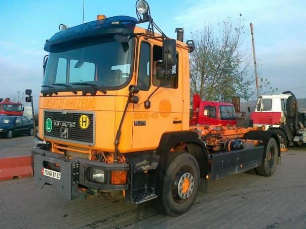 MAN  nosič kontejnerů, foto 1 Užitkové a nákladní vozy, Nad 7,5 t | spěcháto.cz - bazar, inzerce zdarma