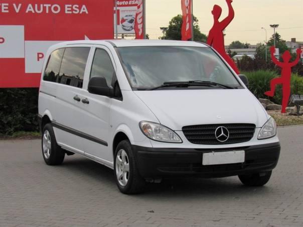 Mercedes-Benz Vito  2.2 CDi, 2.maj,Serv.kniha,ČR, foto 1 Užitkové a nákladní vozy, Do 7,5 t | spěcháto.cz - bazar, inzerce zdarma