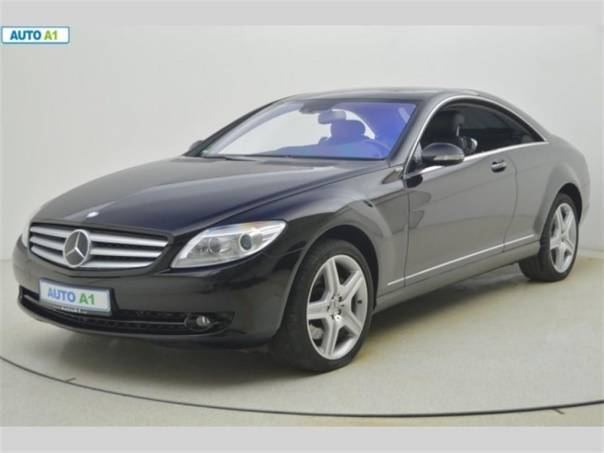 Mercedes-Benz Třída CL 500 4matic 285kW, TOP STAV, foto 1 Auto – moto , Automobily | spěcháto.cz - bazar, inzerce zdarma