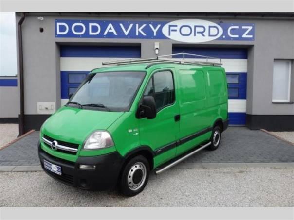 Opel Movano 2,5CDTI-100PS-ZÁVĚS NA 2000 KG, foto 1 Užitkové a nákladní vozy, Do 7,5 t | spěcháto.cz - bazar, inzerce zdarma