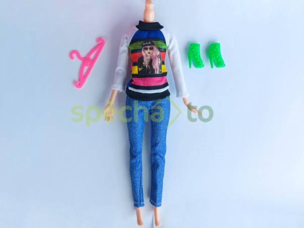 NOVÉ! Set pro panenku Barbie, halenka + kalhoty + boty + ram., foto 1 Pro děti, Hračky | spěcháto.cz - bazar, inzerce zdarma