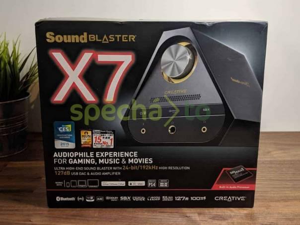 Prodám Creative Sound Blaster X7, foto 1 TV, audio, video, Hudební přehravače | spěcháto.cz - bazar, inzerce zdarma