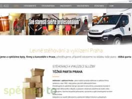 Stěhování, vyklízení, těžká parta Praha , Obchod a služby, Úklid a údržba  | spěcháto.cz - bazar, inzerce zdarma