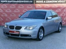 BMW Řada 5 530i 190 kW ČR TOP STAV 100%