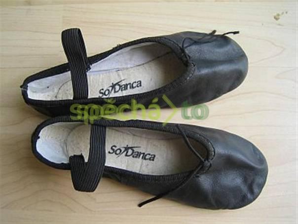 b93734dd8de Dětské taneční boty PIŠKOTY kožené