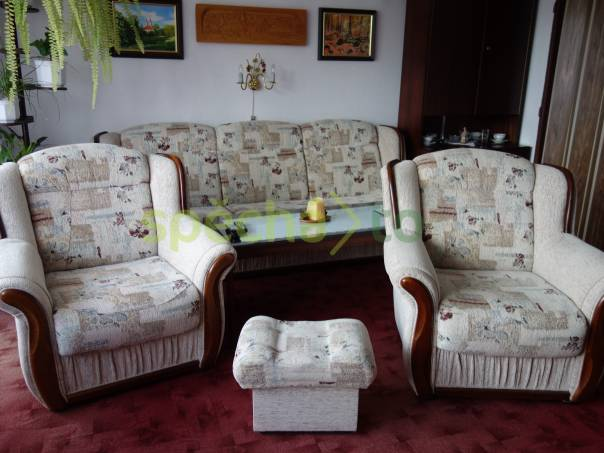 Prodám sedací soupravu, foto 1 Bydlení a vybavení, Sedací soupravy, křesla | spěcháto.cz - bazar, inzerce zdarma