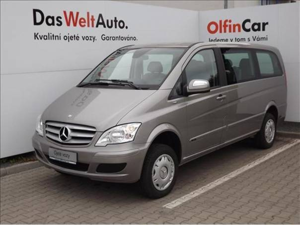 Mercedes-Benz Viano 2,2 CDi  4MATIC, foto 1 Auto – moto , Automobily | spěcháto.cz - bazar, inzerce zdarma