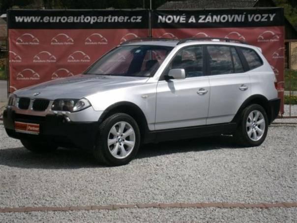 BMW X3 3,0d 4x4 AT kůže xenon Panoram, foto 1 Auto – moto , Automobily | spěcháto.cz - bazar, inzerce zdarma