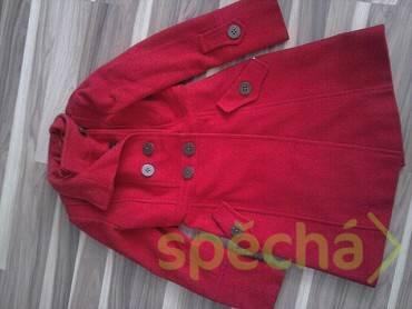 červený flaušový kabátek  369500af44