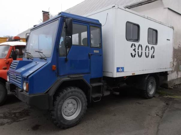 Praga  UV 80 4x4 Dílna s elektrocentrálou, foto 1 Užitkové a nákladní vozy, Do 7,5 t | spěcháto.cz - bazar, inzerce zdarma