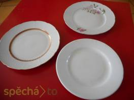 Prodám talíře, použité i po kuse , Hobby, volný čas, Sběratelství a starožitnosti  | spěcháto.cz - bazar, inzerce zdarma