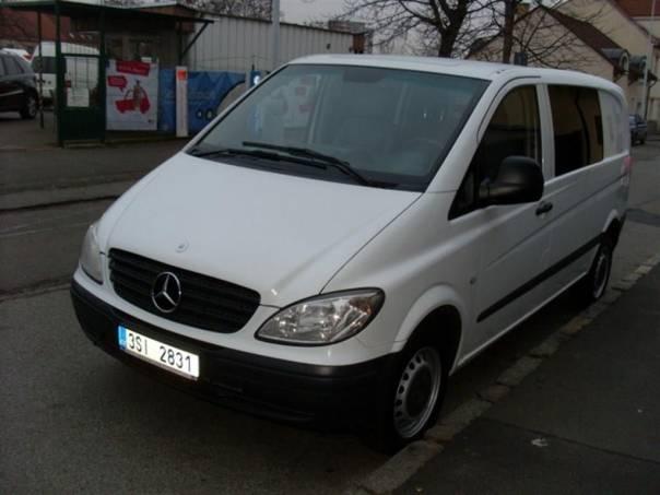 Mercedes-Benz Vito 211, 2.2 DCi,6.Míst, foto 1 Užitkové a nákladní vozy, Autobusy | spěcháto.cz - bazar, inzerce zdarma