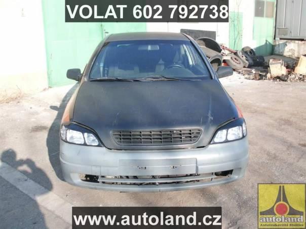 Opel Astra 1,8, foto 1 Náhradní díly a příslušenství, Ostatní | spěcháto.cz - bazar, inzerce zdarma