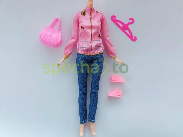 NOVÉ! Set pro Barbie, mikina + kalhoty + tenisky + kabelka + ramínko, foto 1 Pro děti, Hračky   spěcháto.cz - bazar, inzerce zdarma
