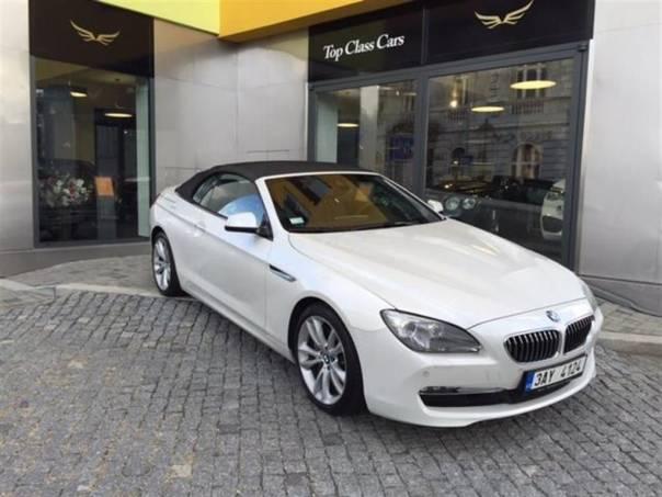 BMW Řada 6 640d xDrive Cabrio, foto 1 Auto – moto , Automobily | spěcháto.cz - bazar, inzerce zdarma