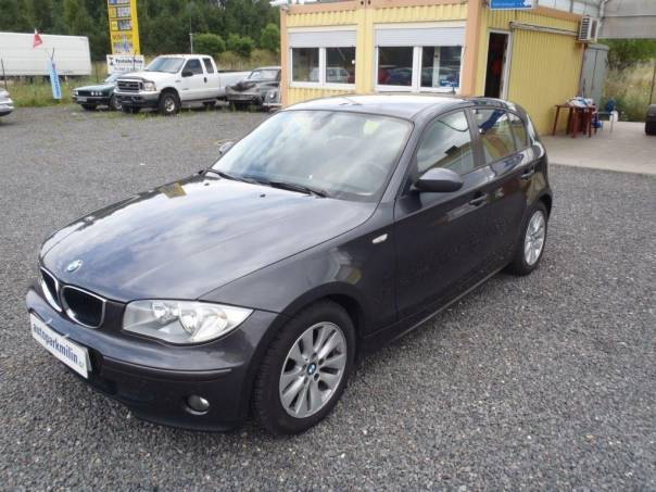 BMW Řada 1 116i ČR, vyhřívané sedačky, 6-ti kv, foto 1 Auto – moto , Automobily   spěcháto.cz - bazar, inzerce zdarma