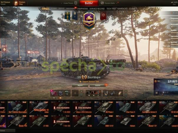 World of Tanks účet, 907 2,6k wn8, foto 1 PC, tablety a příslušenství , Počítače | spěcháto.cz - bazar, inzerce zdarma
