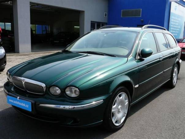 Jaguar X-Type Kombi 2.0 D klimatronic kůže, foto 1 Auto – moto , Automobily | spěcháto.cz - bazar, inzerce zdarma