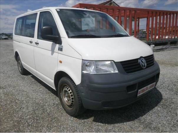 Volkswagen Transporter 1.9 TDi, 9 míst minibus  T5, foto 1 Auto – moto , Automobily | spěcháto.cz - bazar, inzerce zdarma