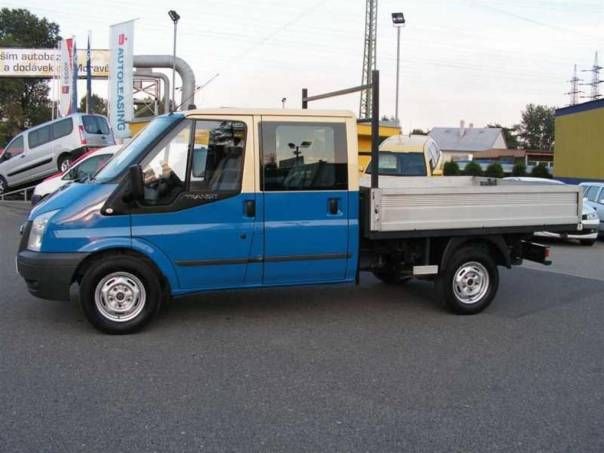 Ford Transit 2.4TDci 115T330 6 míst valník doka, foto 1 Užitkové a nákladní vozy, Do 7,5 t | spěcháto.cz - bazar, inzerce zdarma