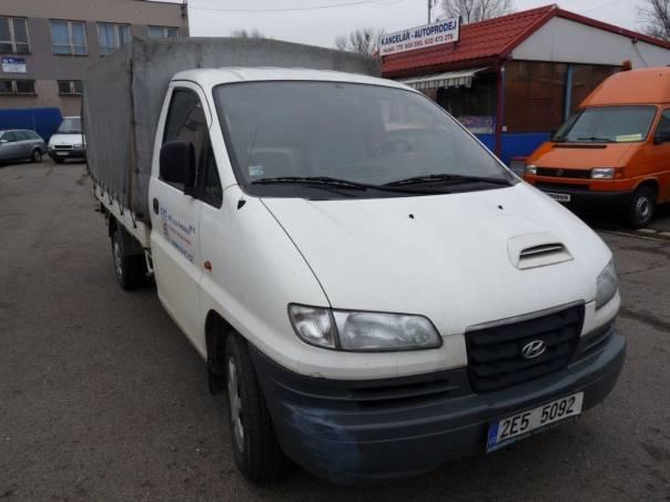 Hyundai H-1 2,5D valník, foto 1 Užitkové a nákladní vozy, Do 7,5 t | spěcháto.cz - bazar, inzerce zdarma