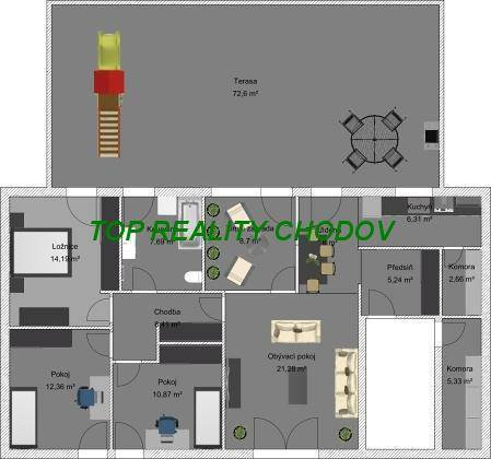 Prodej bytu 6+1, Chodov, foto 1 Reality, Byty na prodej | spěcháto.cz - bazar, inzerce