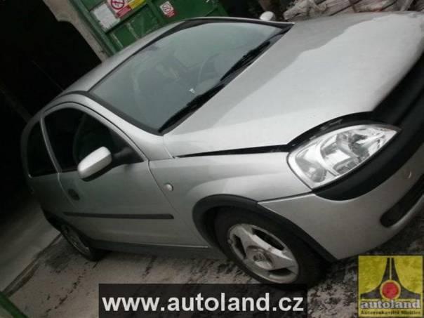 Opel Corsa 1,2, foto 1 Náhradní díly a příslušenství, Ostatní | spěcháto.cz - bazar, inzerce zdarma