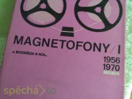 Magnetofony I. (1956-1970) , Hobby, volný čas, Knihy  | spěcháto.cz - bazar, inzerce zdarma