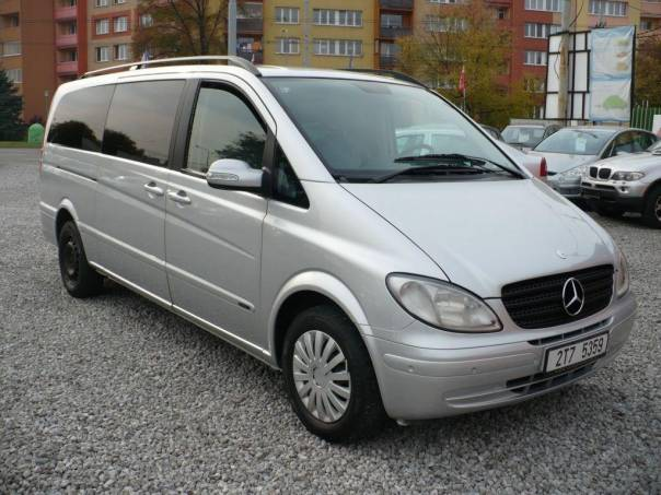 Mercedes-Benz Viano 2.2CDi,6MÍST,EXTRA LONG,1majČR, foto 1 Auto – moto , Automobily | spěcháto.cz - bazar, inzerce zdarma
